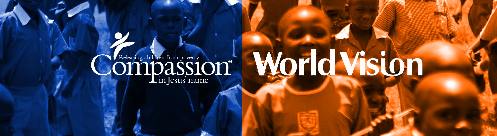 What is the difference between Compassion International and World Vision