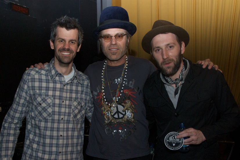 Shaun Groves, Big Kenny and Mat Kearney at Compassion International's 'Help Haiti Live' benefit for Haiti relief.