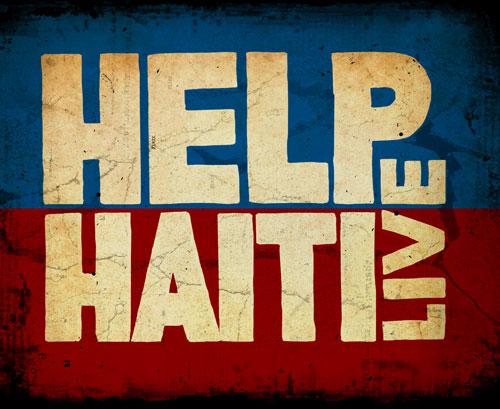 Help Haiti Live logo
