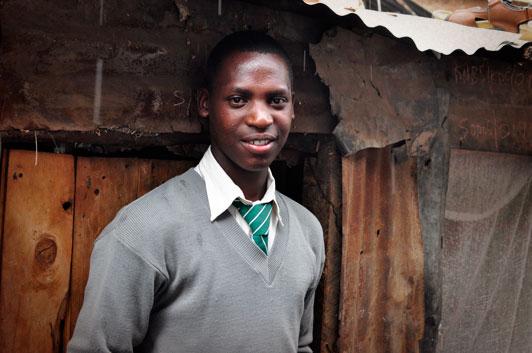 Eliud Compassion Kenya sponsored child