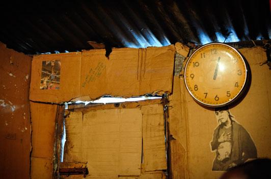 Eliud's-Home in Methare Valley slum Kenya