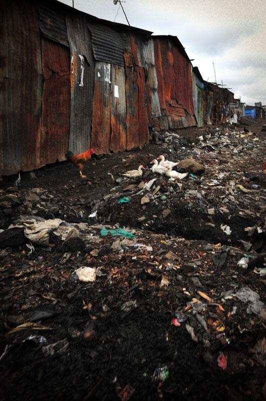 Methare slum Kenya