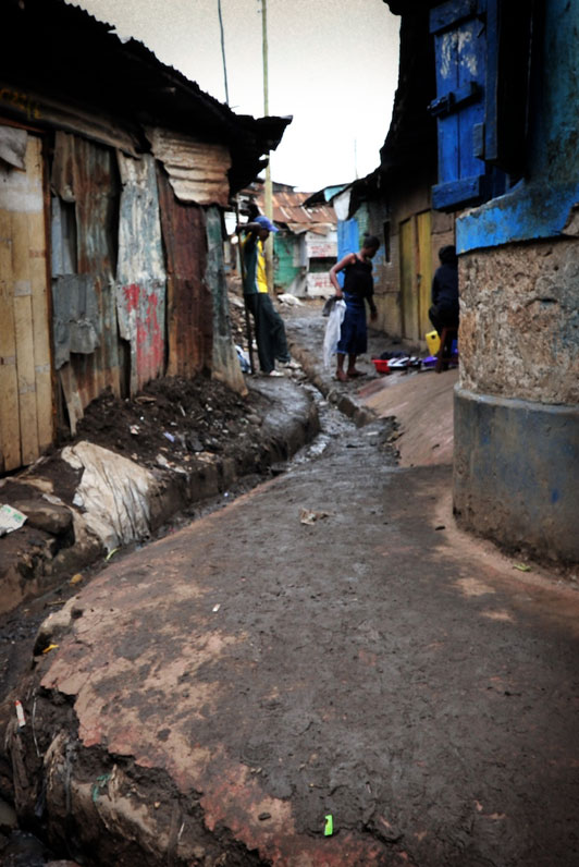 Methare Valley slum Kenya