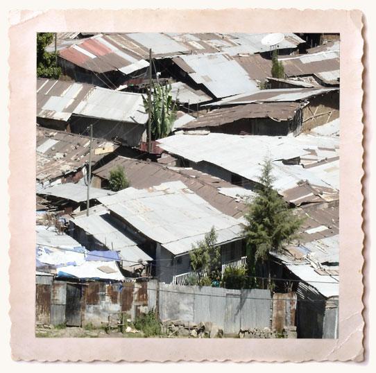 Ethiopian slum