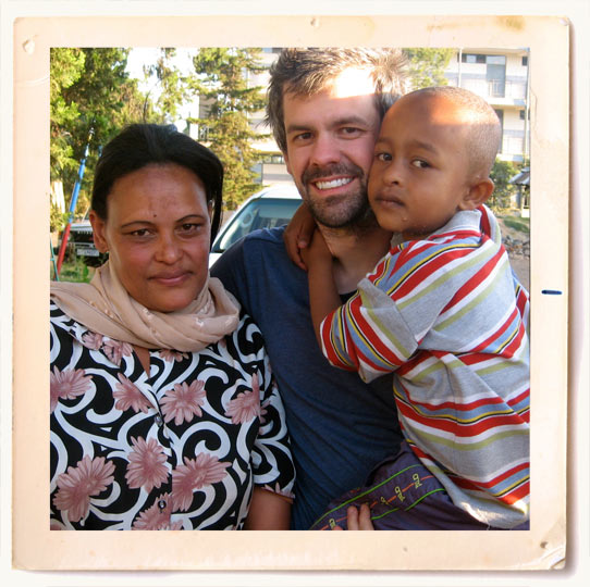 Mom Shaun And Yoseph in Ethiopia