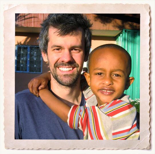 Shaun and Yoseph in Ethiopia