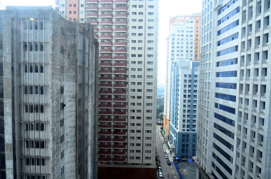 Downtown Manila Philippines