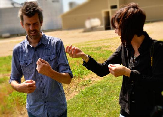 Shaun Groves with Ann Voskamp