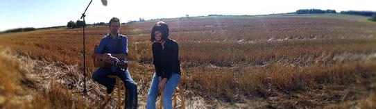 Ann Voskamp wheat field