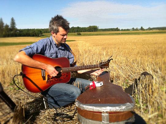 Shaun Groves at Ann Voskamp's farm