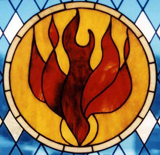 Fire Stained Glass