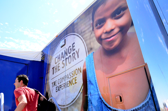 Compassion Experience Change The Story truck