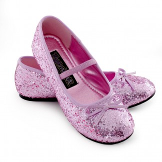 Pink kid shoes