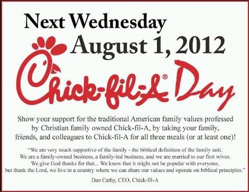 Chick-fil-A Day
