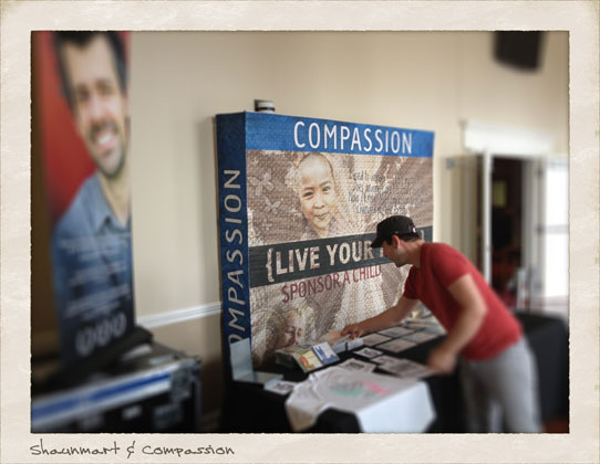 Compassion International sponsorship table