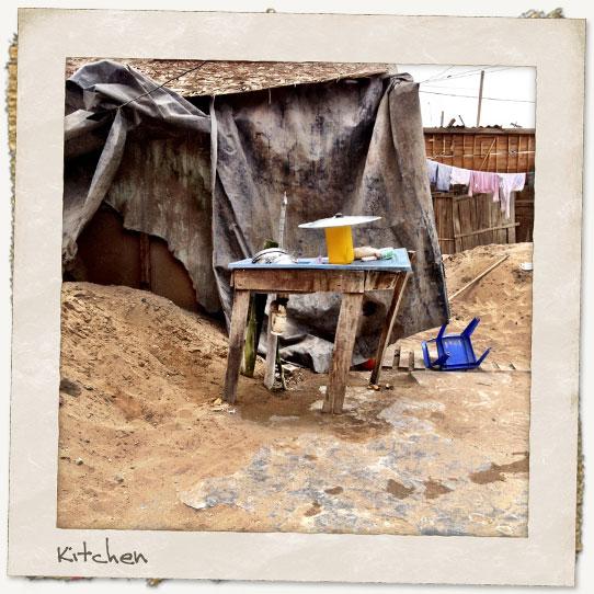 Peru kitchen