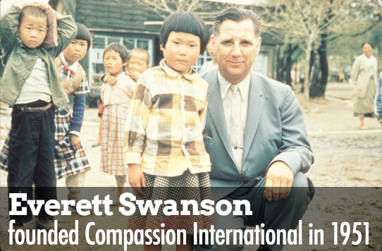 Everett Swanson founder of Compassion International
