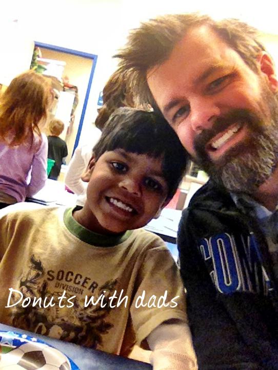 Sambhaji-and-Shaun-Groves-At-Donuts-with-dads