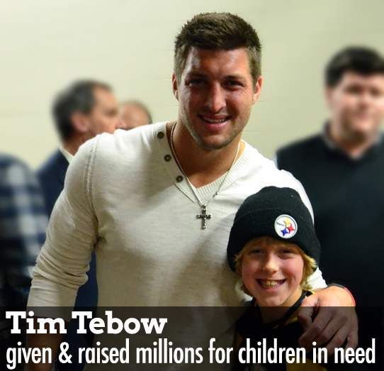 Tim Tebow charity