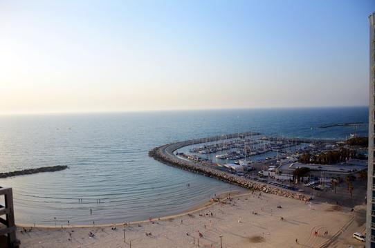 Mediterranean-Sea-Tel-Aviv