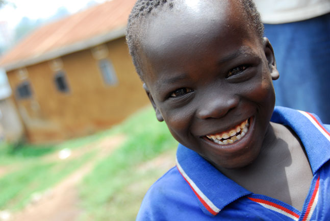 Compassion-International-Uganda-smiling-boy