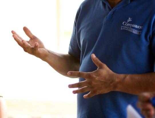 Pastor-Dennis'-hands
