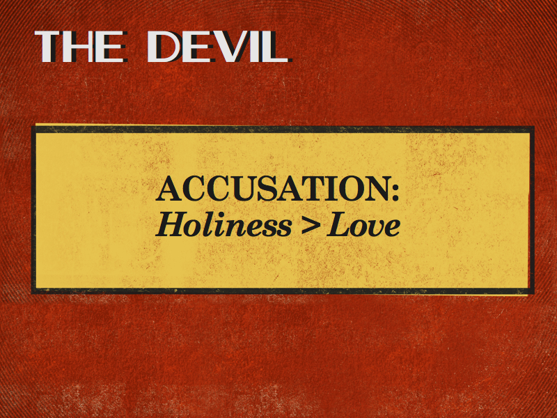 World Flesh Devil Accusation