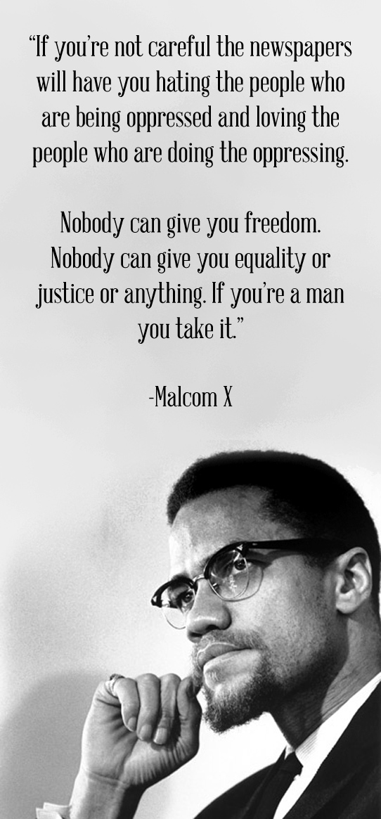 MalcolmxQuotes On Leadership. QuotesGram
