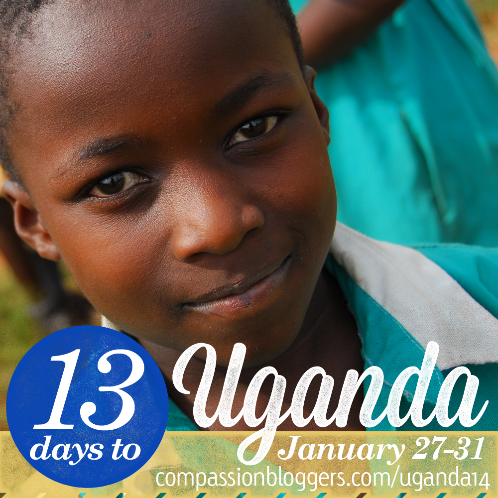 Compassion Bloggers Uganda January 27-31