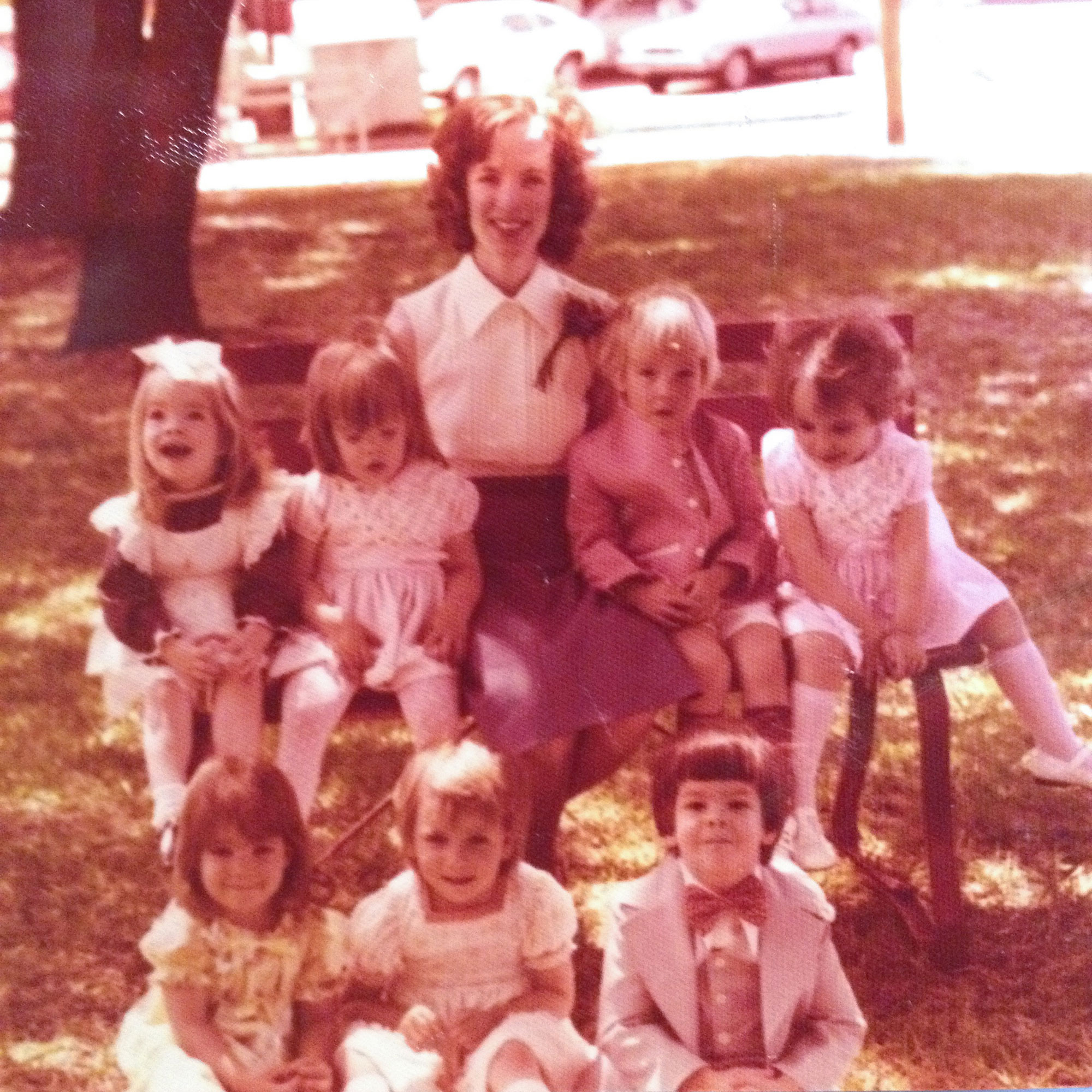 Mrs Jones First Baptist Tyler Texas sunday school 1976
