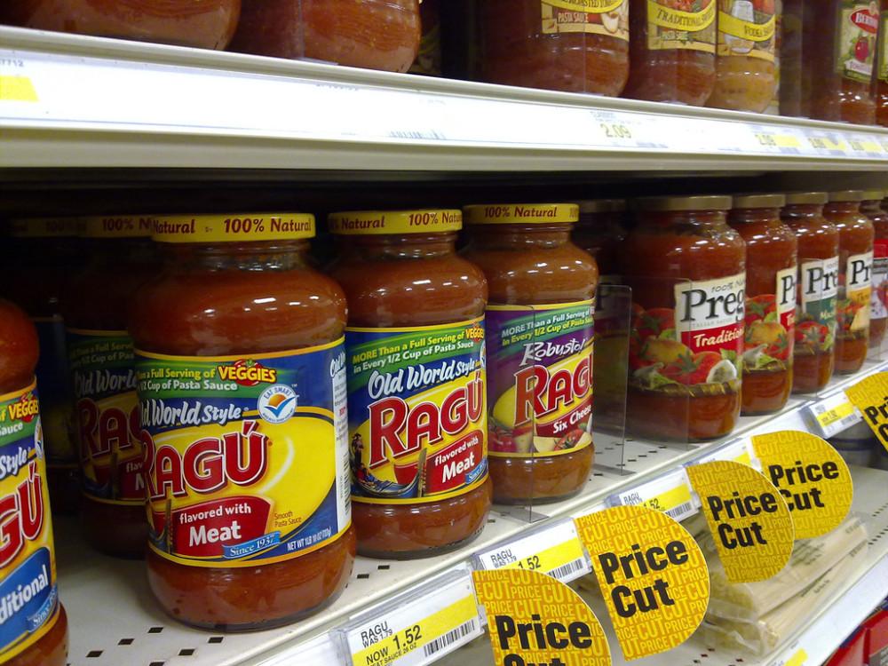 Spaghetti Sauce choices