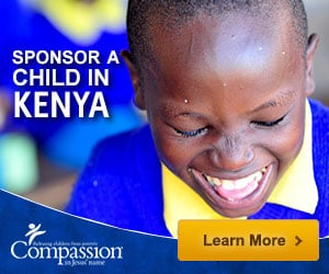Sponsor a child in Kenya through Compassion International
