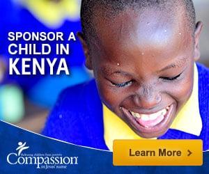 Sponsor a child in Kenya through Compassion International