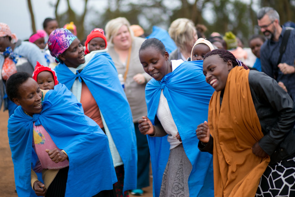 Kenyan Women Dancing