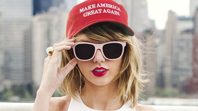 Taylor Swift Donald Trump