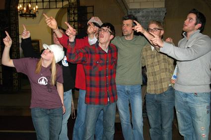 Pointing-At-Northwestern-College